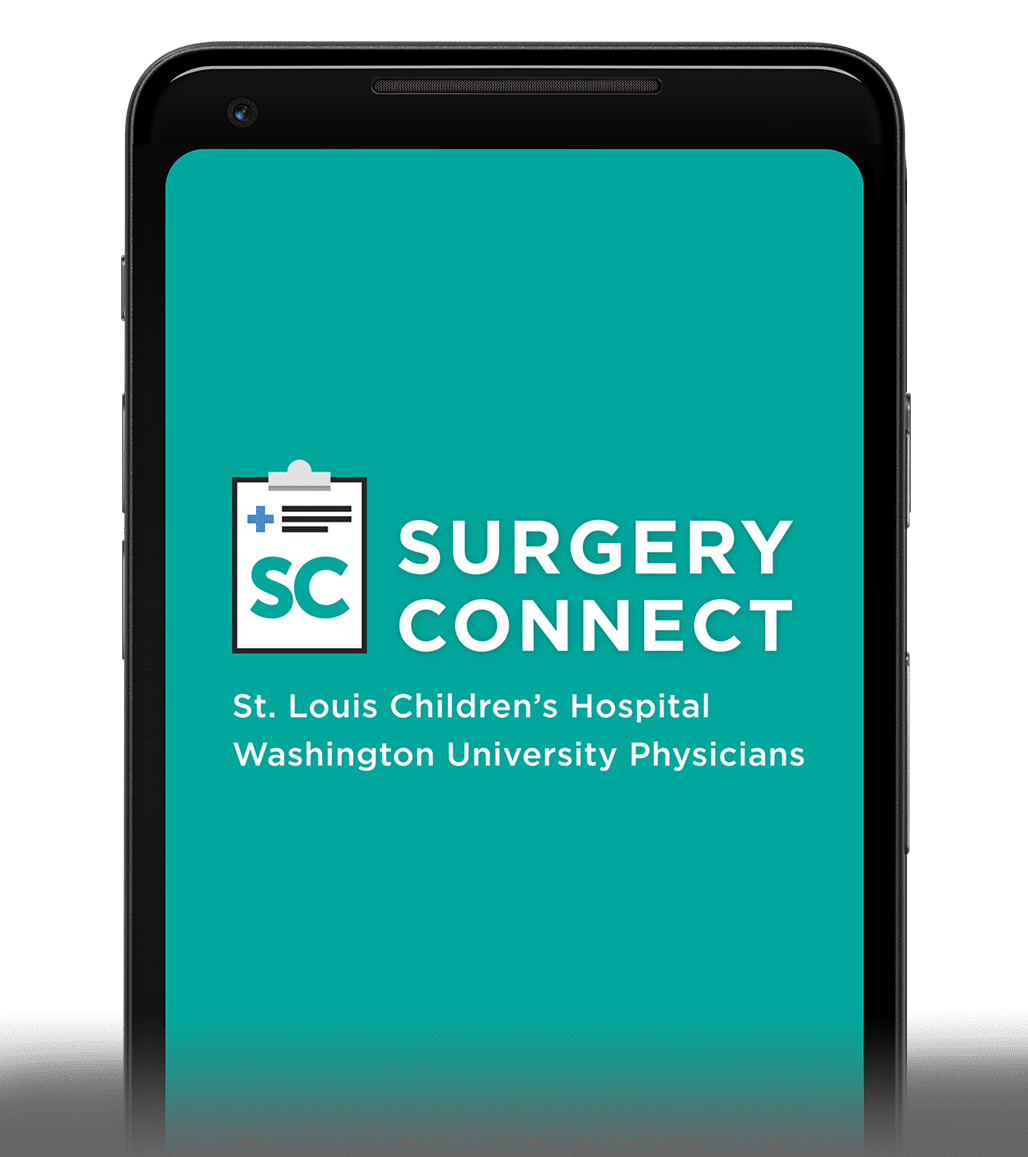 Surgery Connect Surgery App Home Screen